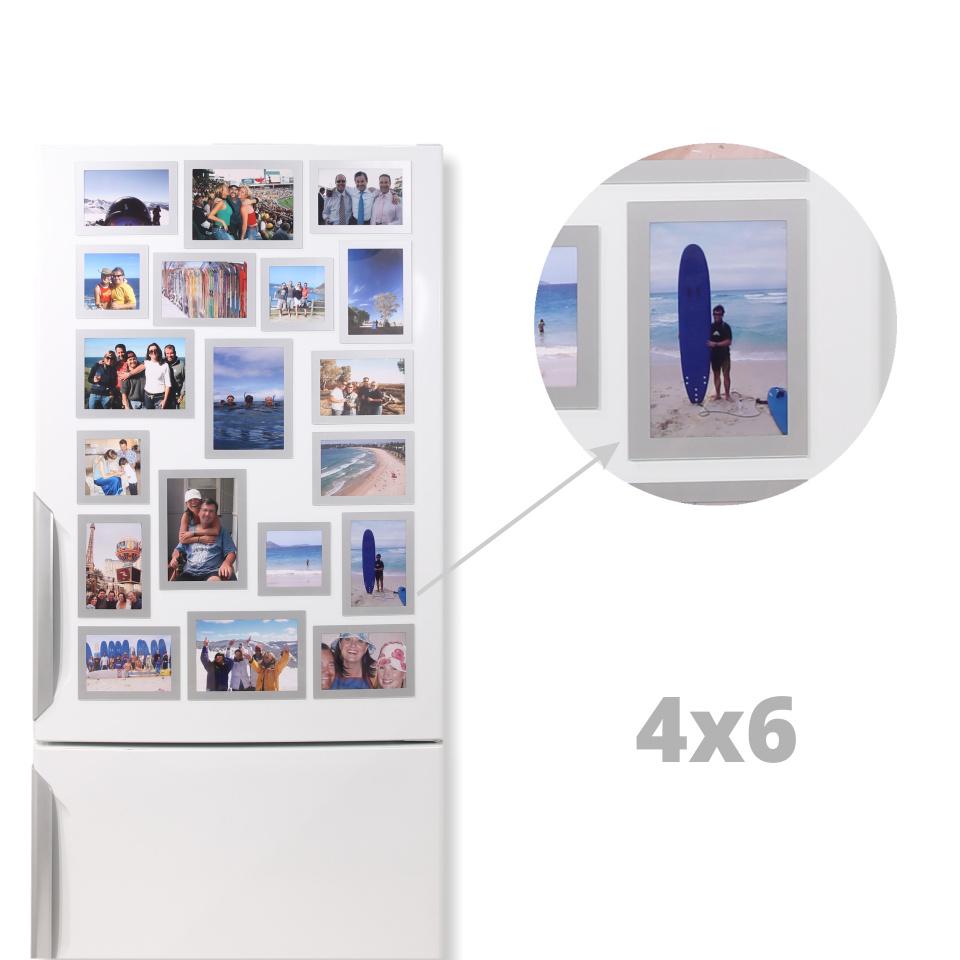 Magnetic Picture Frames 4×6