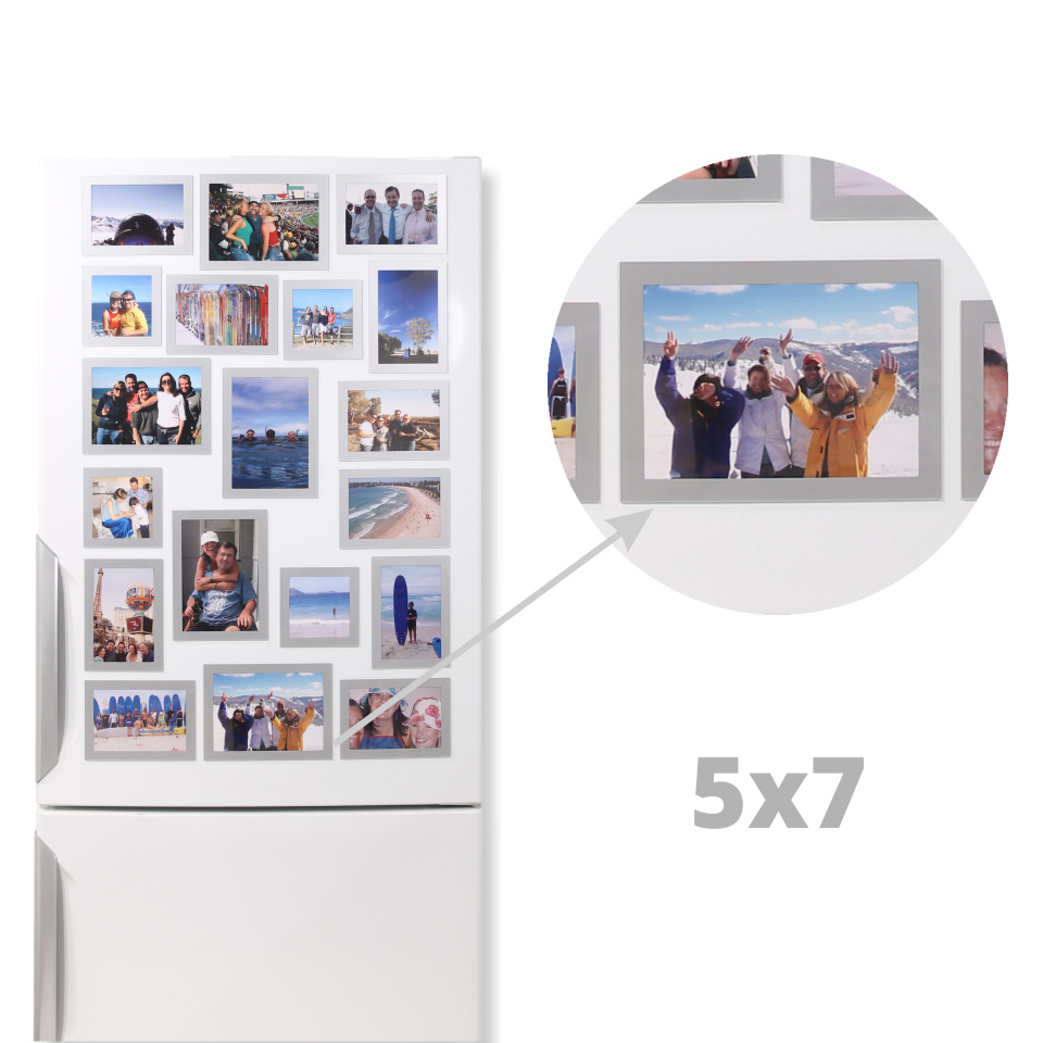 Magnetic Picture Frames for 5x7 Photos