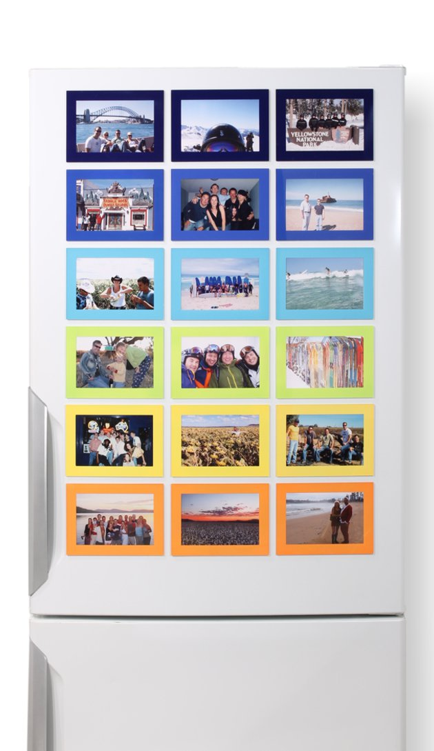 Fridgi Magnetic Picture Frames - Stunning on the refrigerator