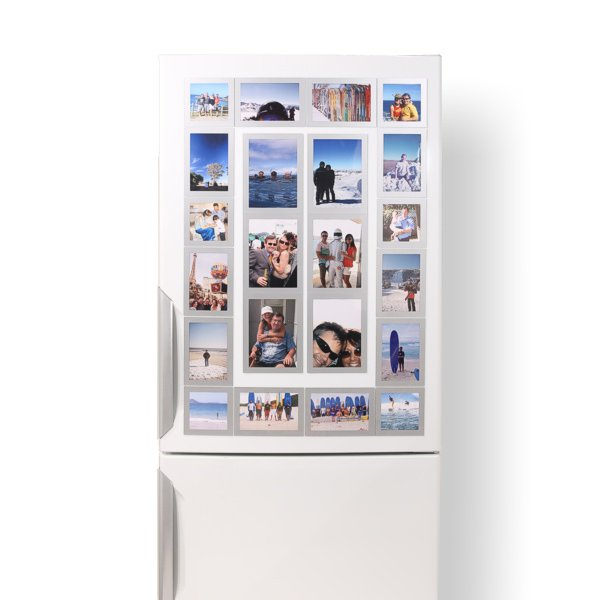 Fridgi Magnetic Picture Frames - Simple, Stylish, High Quality
