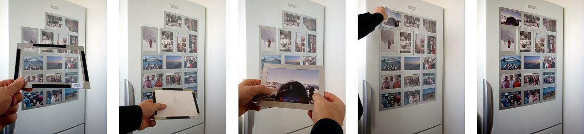 magnetic picture frames simple stylish high quality